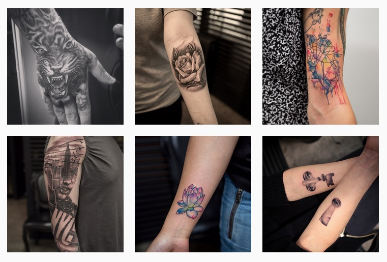 Bang Bang, tattoo instagramer