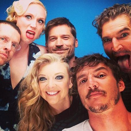 Selfie actores Game of Thrones
