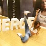 Instagramers 'fit' presentan en Madrid las nuevas Puma Fierce Gold