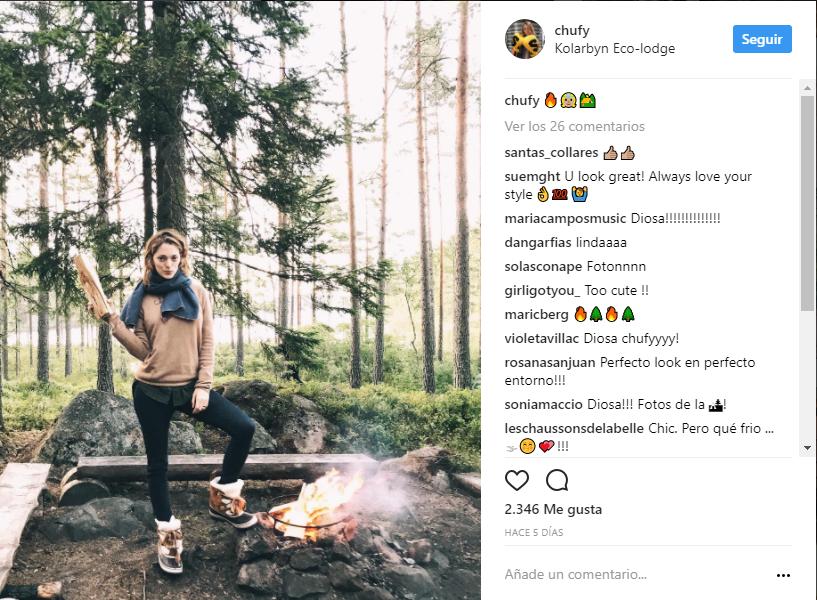 Chufy en instagram